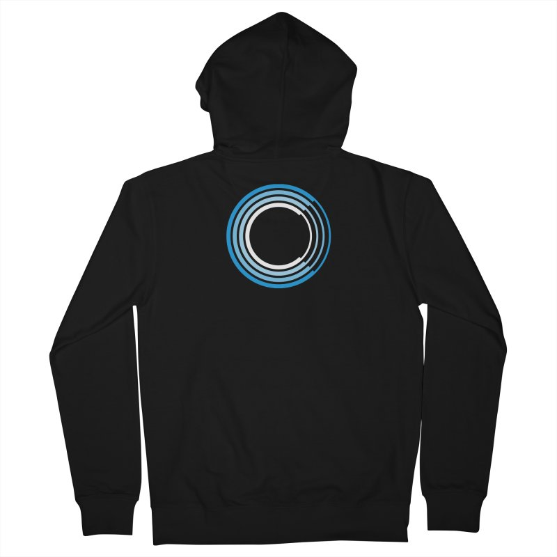 Chorus.fm Full Color Logo (Centered) Men's Zip-Up Hoody by Chorus.fm Shop
