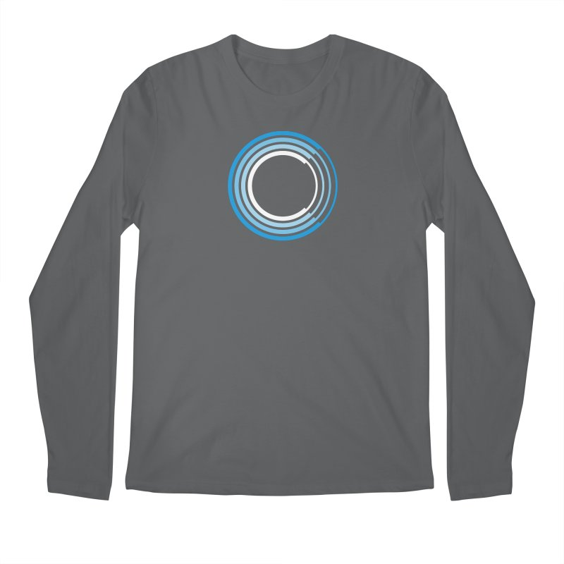 Chorus.fm Full Color Logo (Centered) Men's Regular Longsleeve T-Shirt by Chorus.fm Shop
