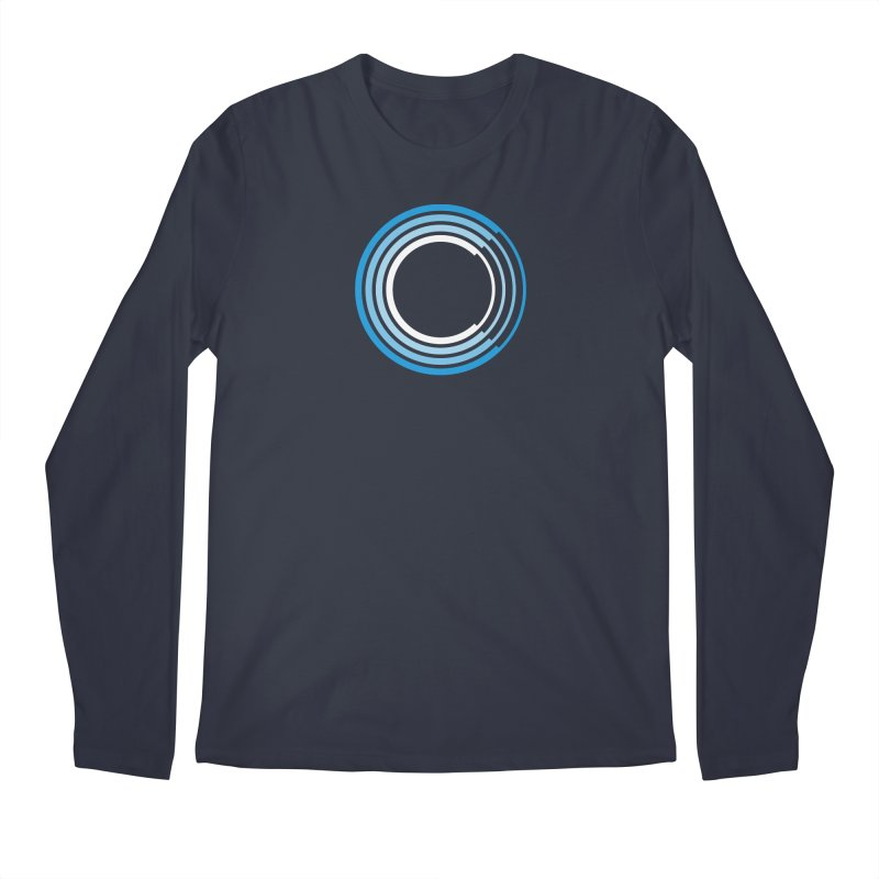 Chorus.fm Full Color Logo (Centered) Men's Regular Longsleeve T-Shirt by Chorus.fm Shop