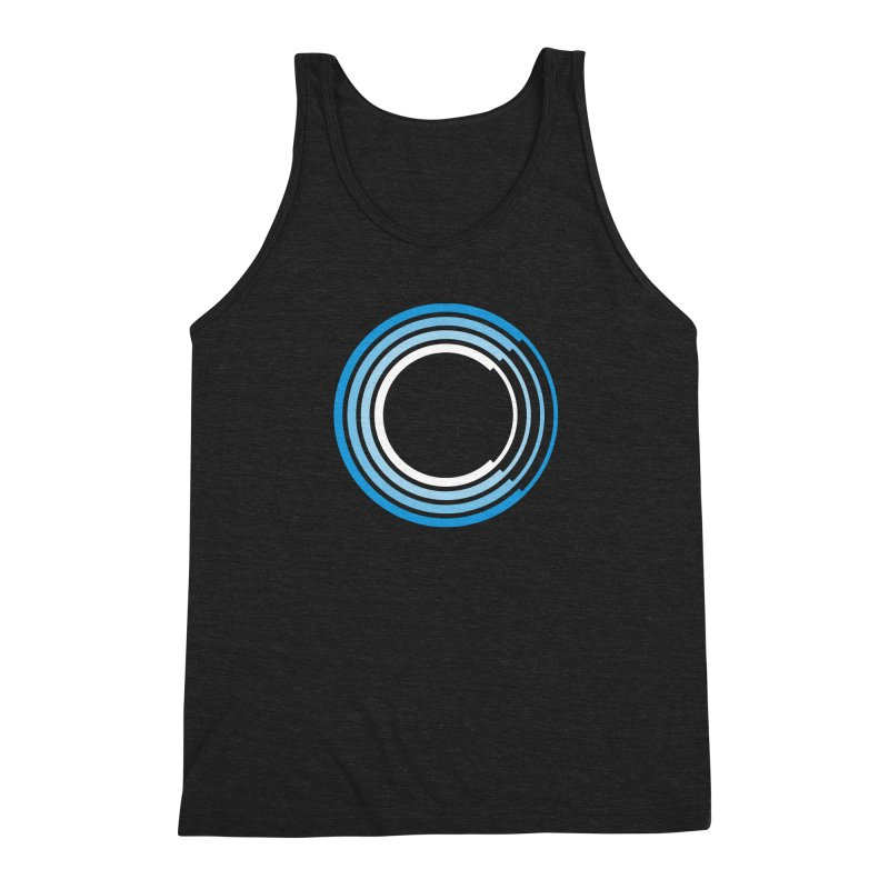 Chorus.fm Full Color Logo (Centered) Men's Triblend Tank by Chorus.fm Shop