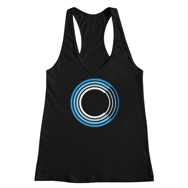 Chorus.fm Full Color Logo (Centered) Women's Racerback Tank by Chorus.fm Shop