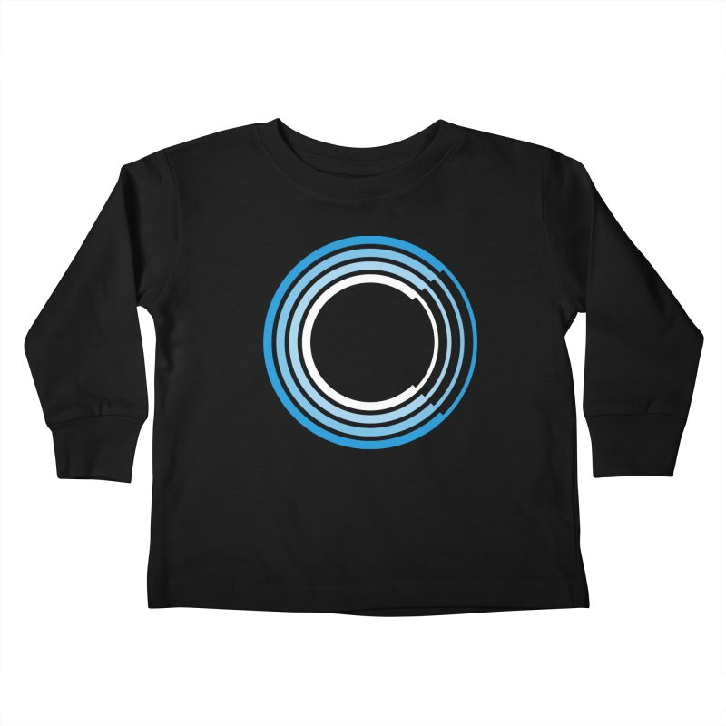 Chorus.fm Full Color Logo (Centered) Kids Toddler Longsleeve T-Shirt by Chorus.fm Shop