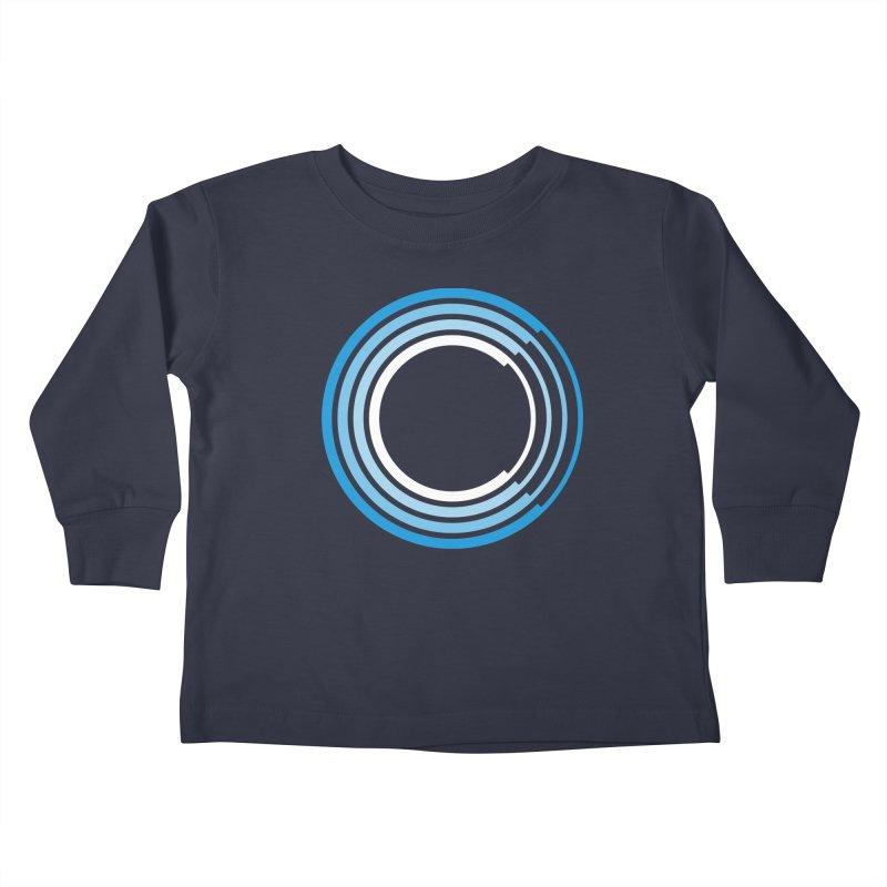 Chorus.fm Full Color Logo (Centered) Kids Toddler Longsleeve T-Shirt by Chorus.fm Shop