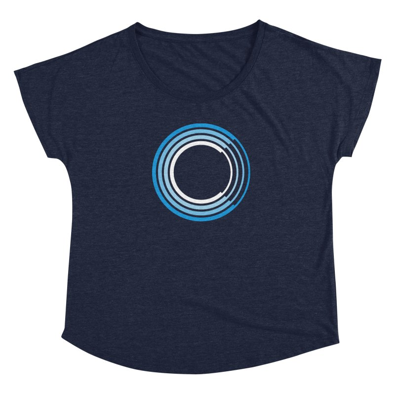 Chorus.fm Full Color Logo (Centered) Women's Dolman Scoop Neck by Chorus.fm Shop