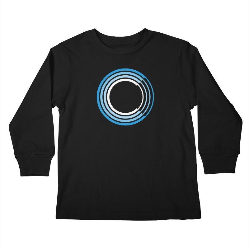 Chorus.fm Full Color Logo (Centered) Kids Longsleeve T-Shirt by Chorus.fm Shop