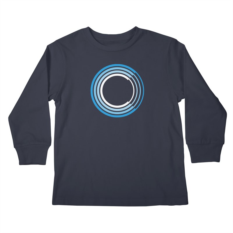 Chorus.fm Full Color Logo (Centered) Kids Longsleeve T-Shirt by Chorus.fm Shop