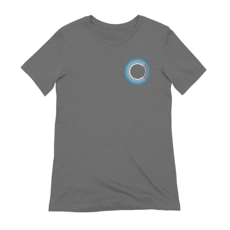 Chorus.fm Full Color Logo (Breast) Women's Extra Soft T-Shirt by Chorus.fm Shop
