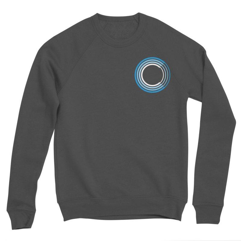 Chorus.fm Full Color Logo (Breast) Men's Sponge Fleece Sweatshirt by Chorus.fm Shop