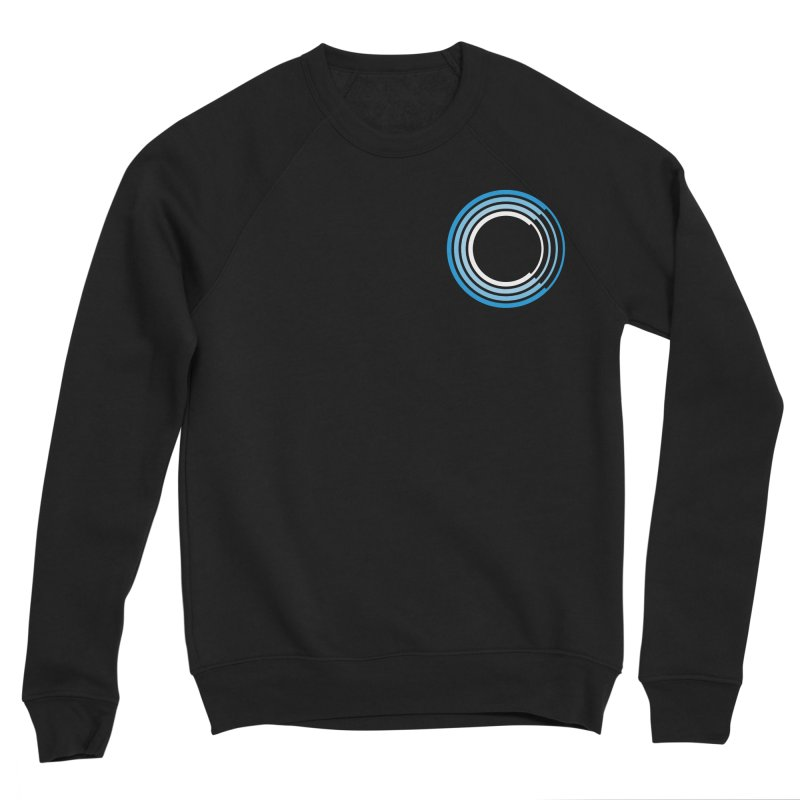 Chorus.fm Full Color Logo (Breast) Men's Sponge Fleece Sweatshirt by Chorus.fm Shop