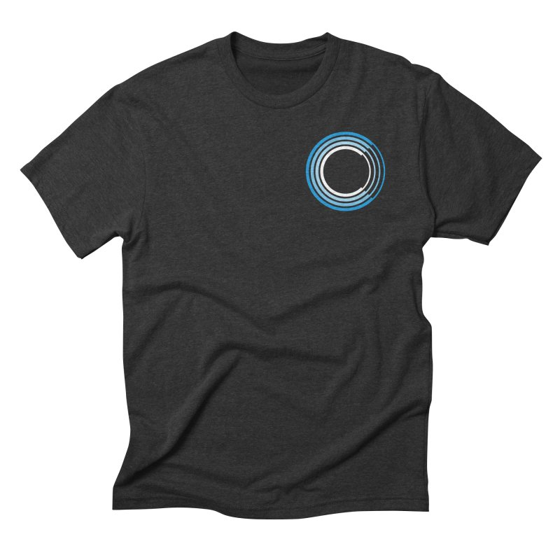 Chorus.fm Full Color Logo (Breast) in Men's Triblend T-Shirt Heather Onyx by Chorus.fm Shop