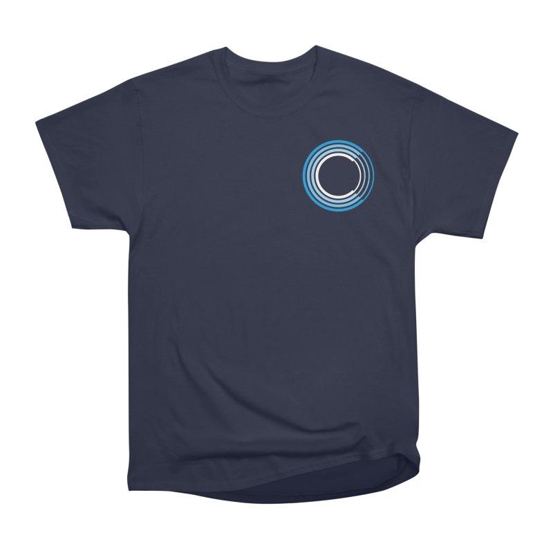 Chorus.fm Full Color Logo (Breast) Women's Heavyweight Unisex T-Shirt by Chorus.fm Shop