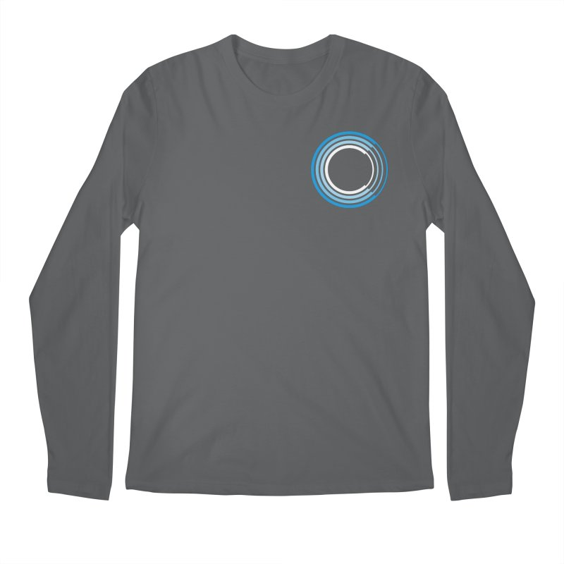 Chorus.fm Full Color Logo (Breast) Men's Regular Longsleeve T-Shirt by Chorus.fm Shop