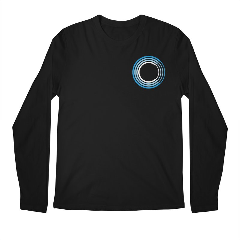 Chorus.fm Full Color Logo (Breast) Men's Regular Longsleeve T-Shirt by Chorus.fm Shop