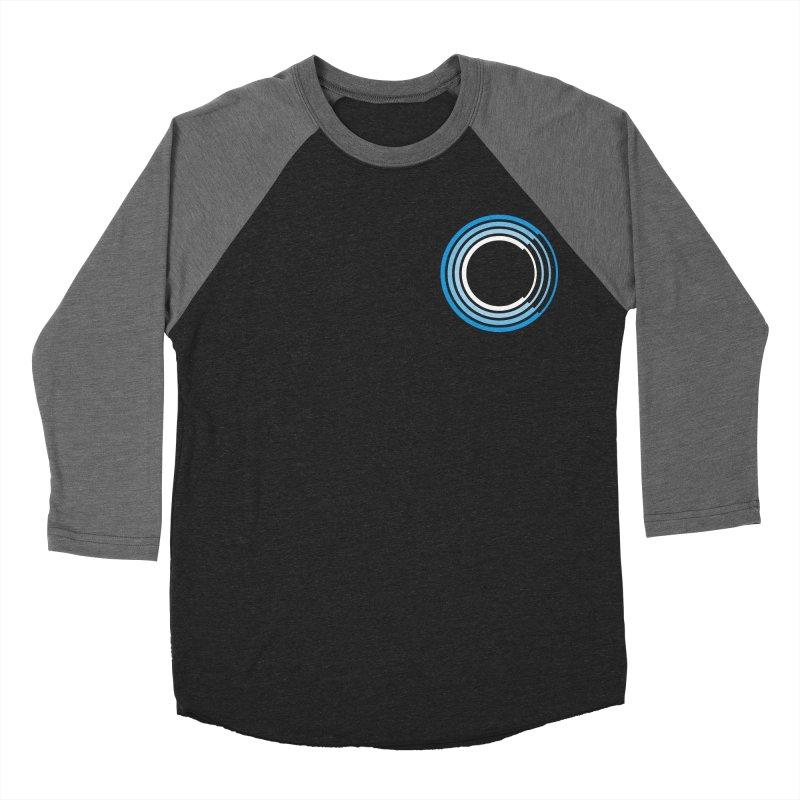 Chorus.fm Full Color Logo (Breast) Women's Baseball Triblend Longsleeve T-Shirt by Chorus.fm Shop