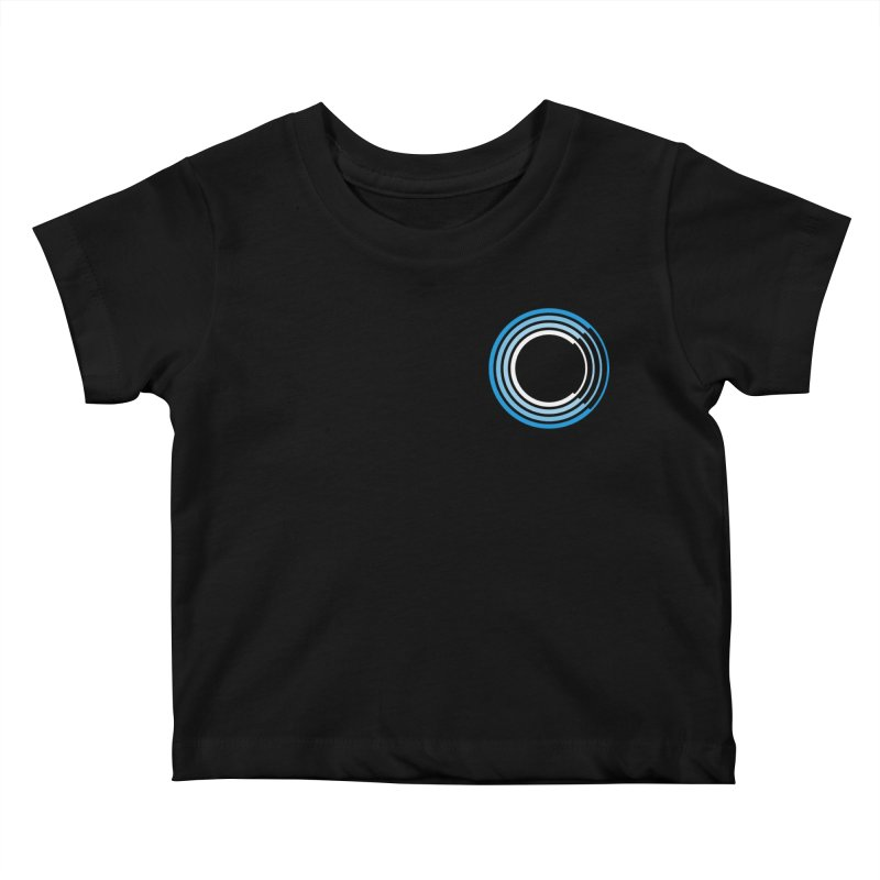 Chorus.fm Full Color Logo (Breast) Kids Baby T-Shirt by Chorus.fm Shop