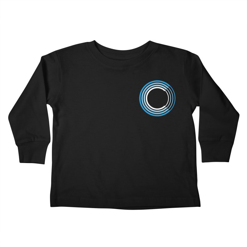 Chorus.fm Full Color Logo (Breast) Kids Toddler Longsleeve T-Shirt by Chorus.fm Shop