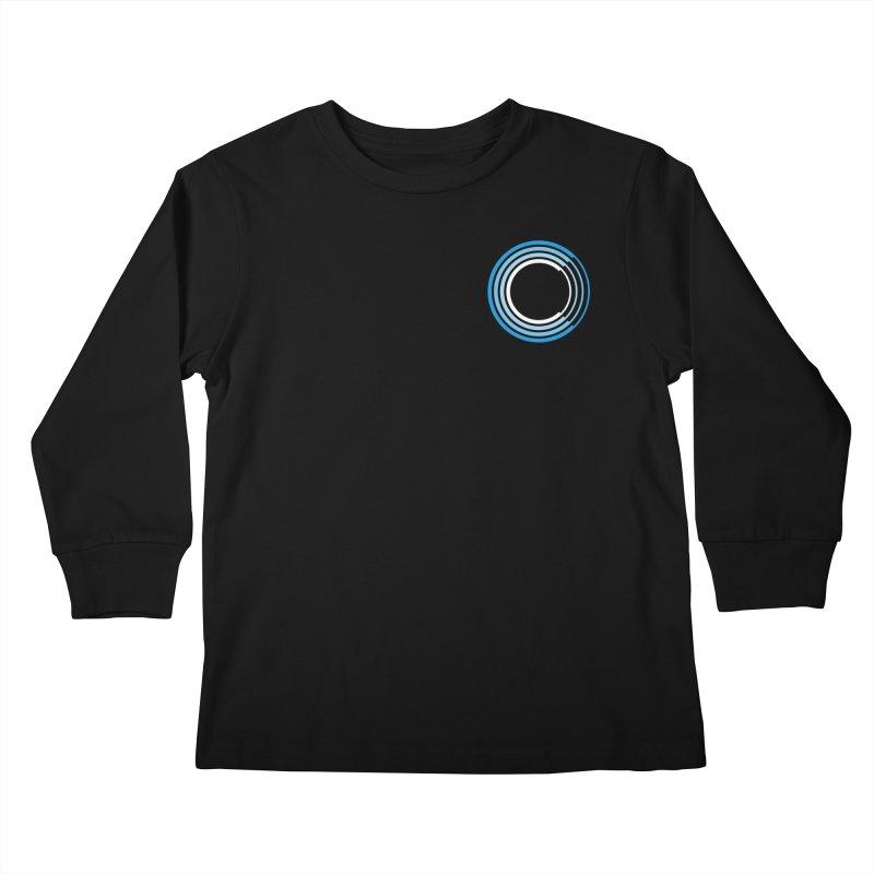 Chorus.fm Full Color Logo (Breast) Kids Longsleeve T-Shirt by Chorus.fm Shop