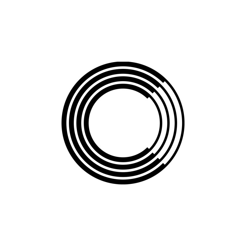 Chorus.fm Black Logo (Centered) Men's T-Shirt by Chorus.fm Shop