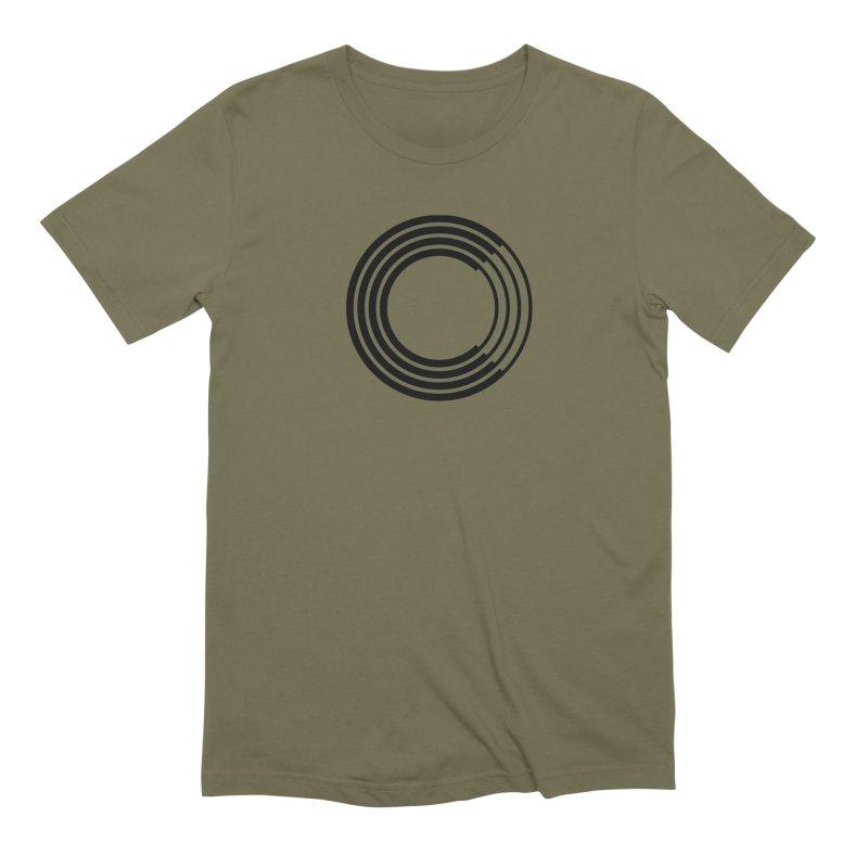Chorus.fm Black Logo (Centered) Men's Extra Soft T-Shirt by Chorus.fm Shop