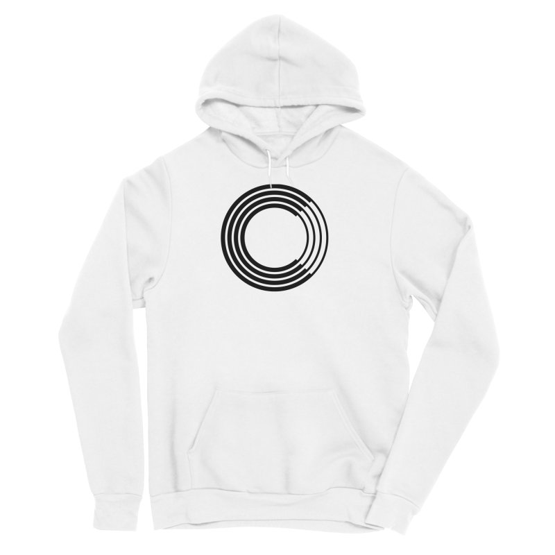 Chorus.fm Black Logo (Centered) Women's Sponge Fleece Pullover Hoody by Chorus.fm Shop