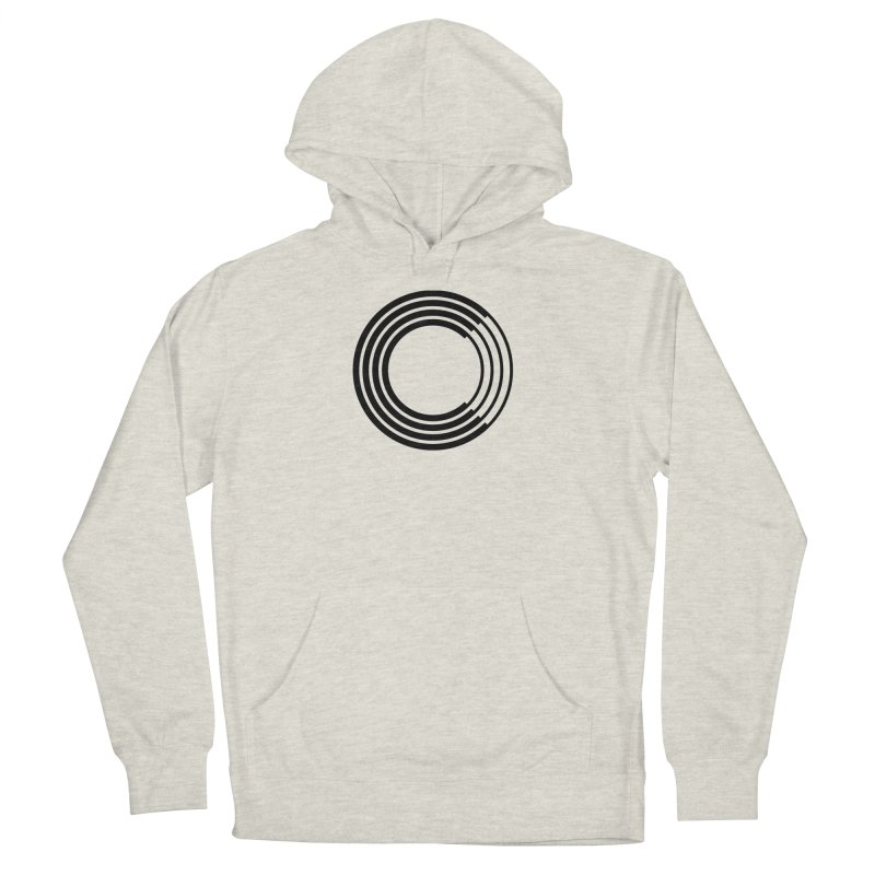 Chorus.fm Black Logo (Centered) Women's French Terry Pullover Hoody by Chorus.fm Shop