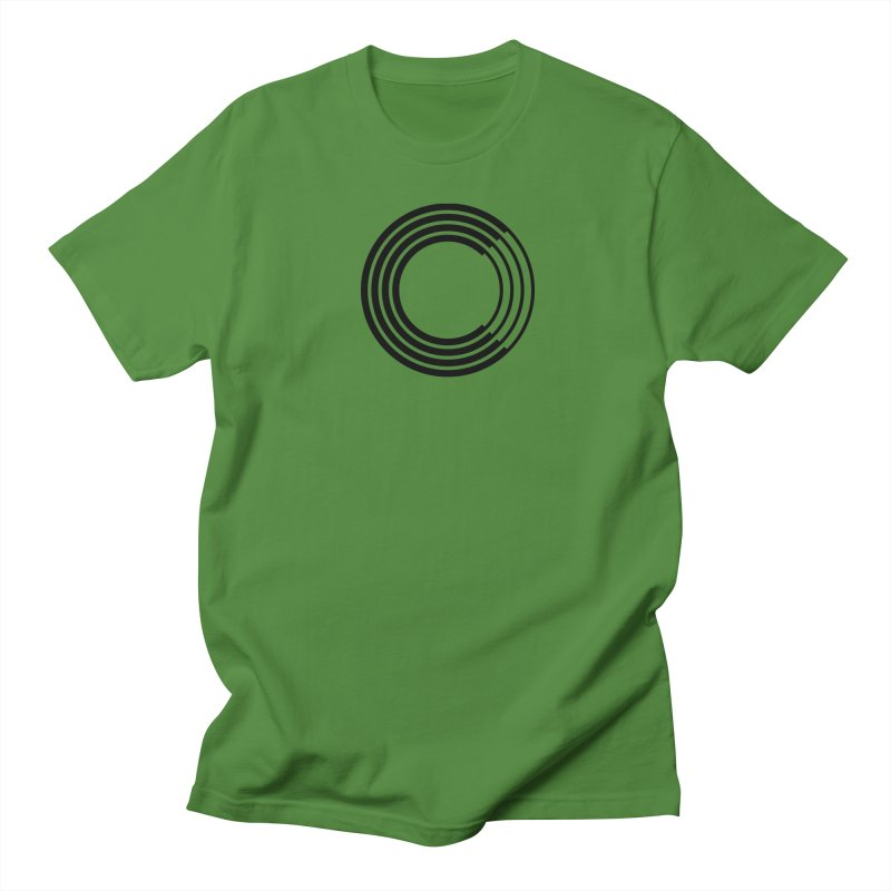 Chorus.fm Black Logo (Centered) Women's Regular Unisex T-Shirt by Chorus.fm Shop