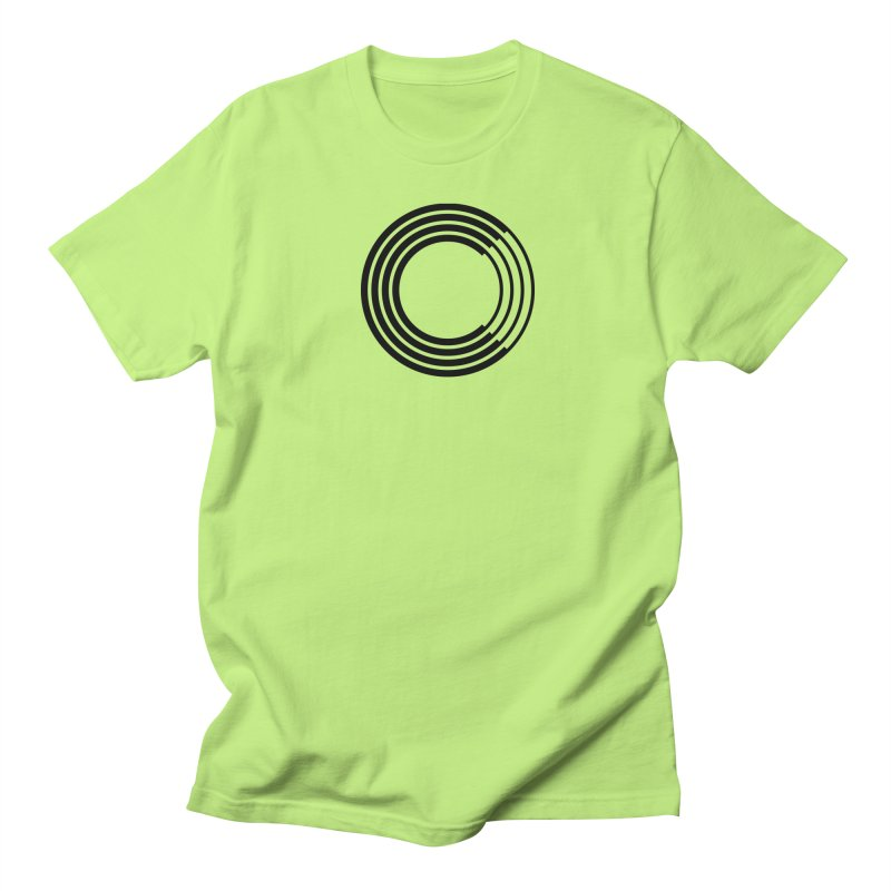 Chorus.fm Black Logo (Centered) Men's Regular T-Shirt by Chorus.fm Shop