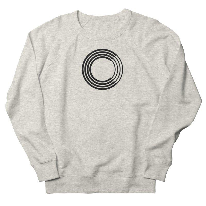 Chorus.fm Black Logo (Centered) Men's French Terry Sweatshirt by Chorus.fm Shop