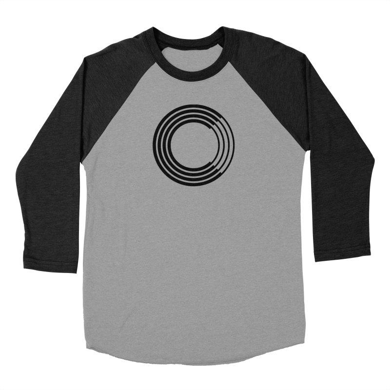 Chorus.fm Black Logo (Centered) Women's Baseball Triblend Longsleeve T-Shirt by Chorus.fm Shop