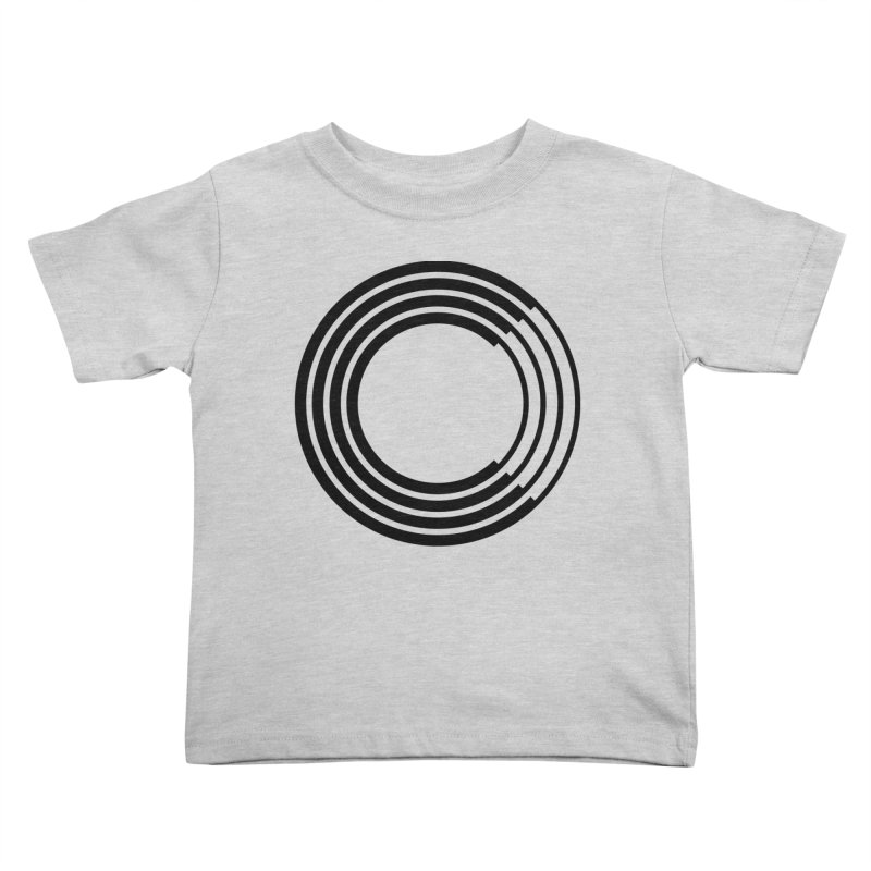 Chorus.fm Black Logo (Centered) Kids Toddler T-Shirt by Chorus.fm Shop