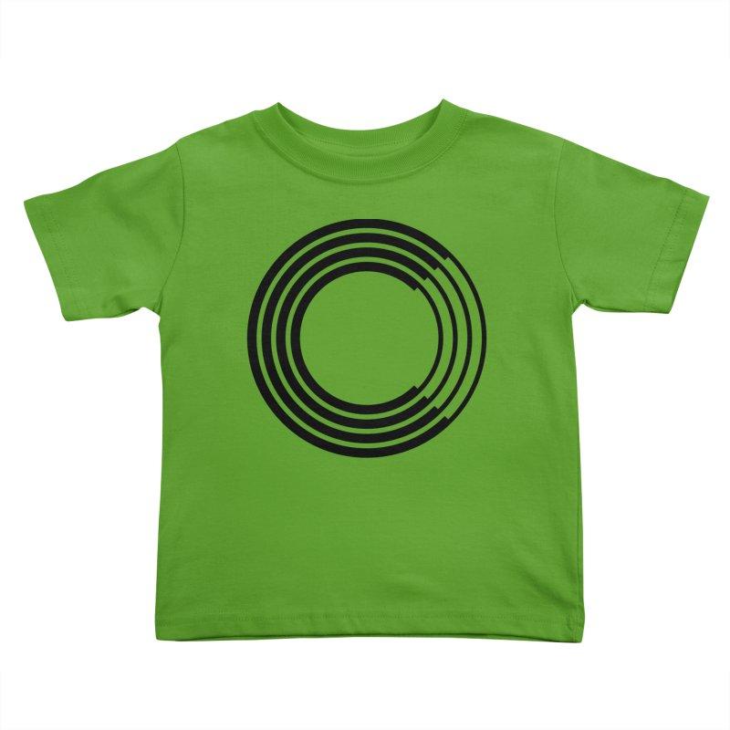 Chorus.fm Black Logo (Centered) Kids Toddler T-Shirt by Chorus.fm Shop