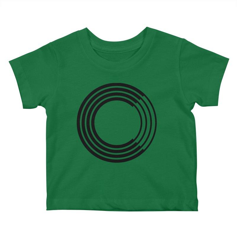 Chorus.fm Black Logo (Centered) Kids Baby T-Shirt by Chorus.fm Shop