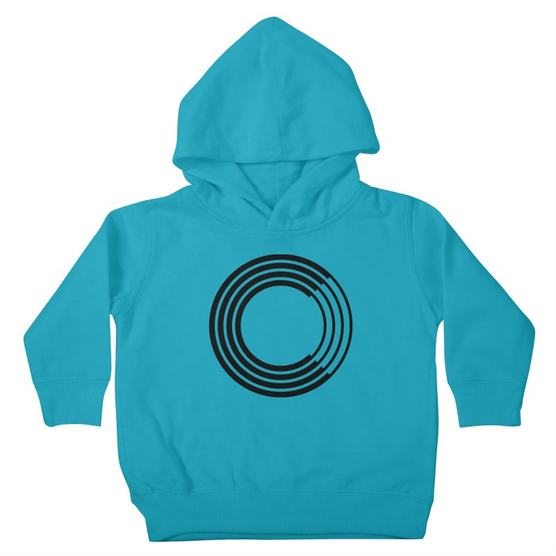 Chorus.fm Black Logo (Centered) Kids Toddler Pullover Hoody by Chorus.fm Shop