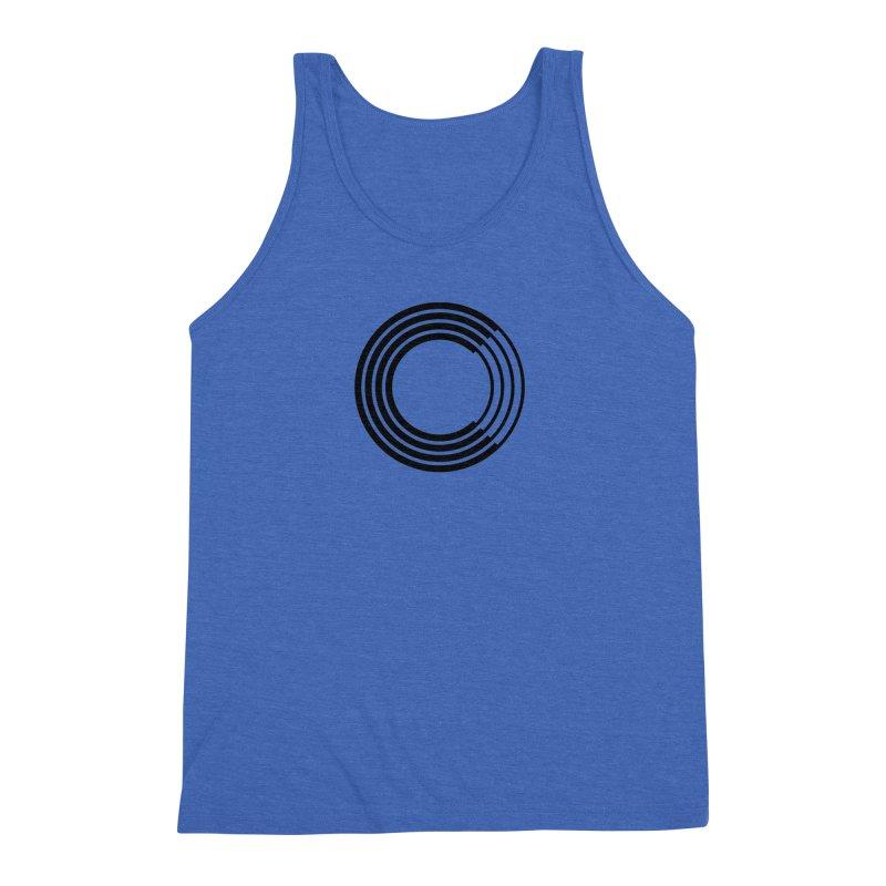 Chorus.fm Black Logo (Centered) Men's Triblend Tank by Chorus.fm Shop