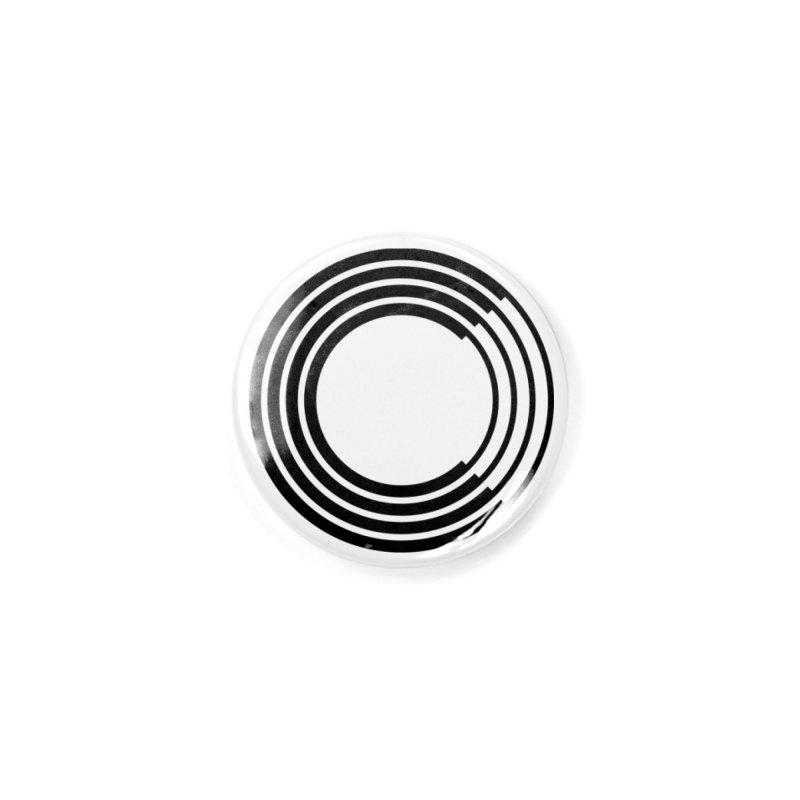 Chorus.fm Black Logo (Centered) Accessories Button by Chorus.fm Shop