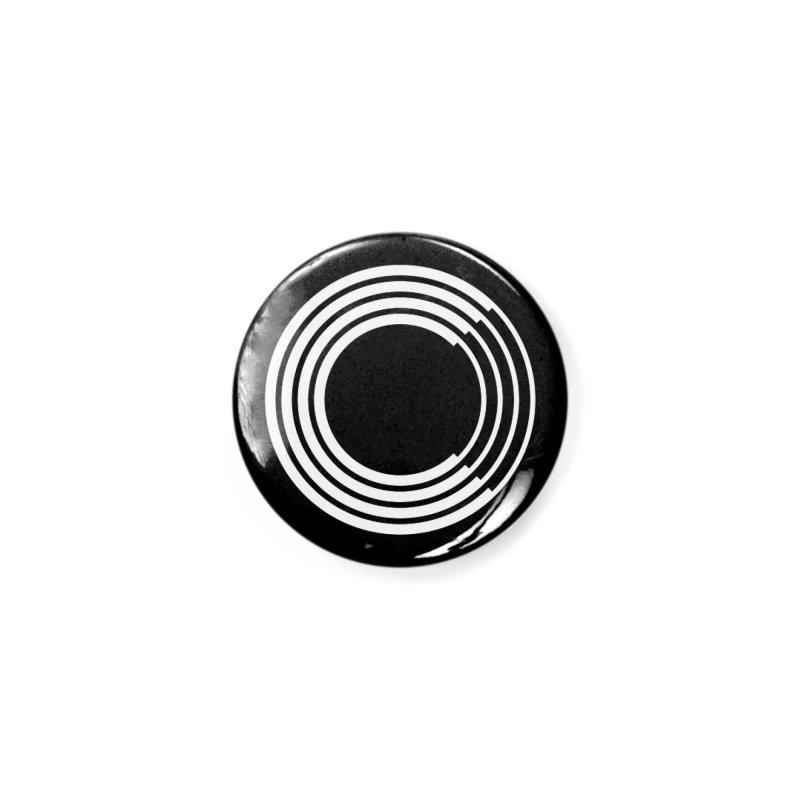 Chorus.fm White Logo (Centered) in Button by Chorus.fm Shop