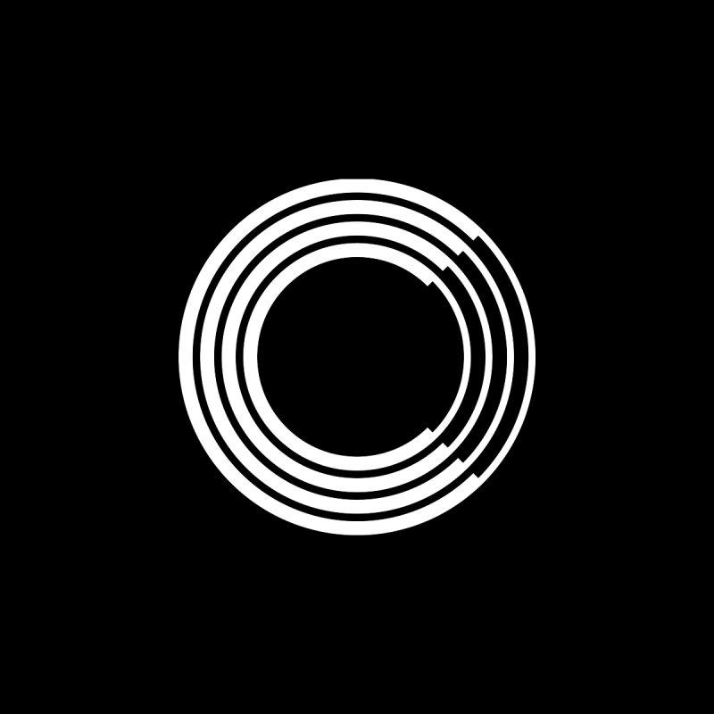 Chorus.fm White Logo (Centered) Accessories Button by Chorus.fm Shop