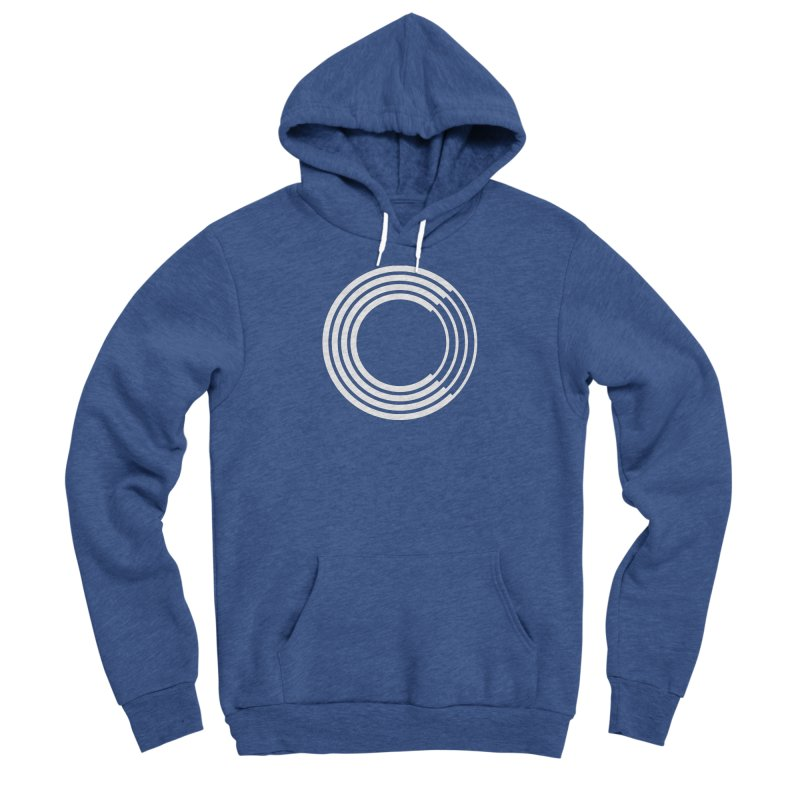 Chorus.fm White Logo (Centered) Men's Sponge Fleece Pullover Hoody by Chorus.fm Shop