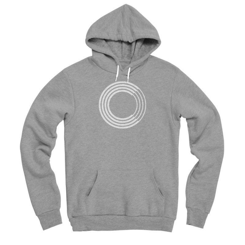 Chorus.fm White Logo (Centered) Men's Sponge Fleece Pullover Hoody by Chorus.fm Shop