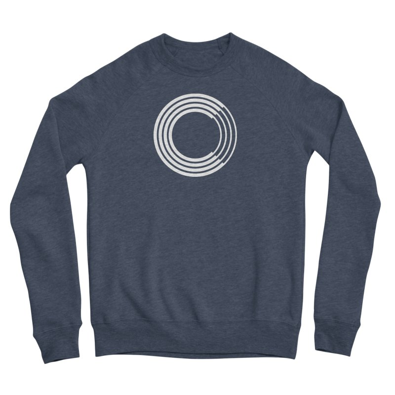 Chorus.fm White Logo (Centered) Men's Sponge Fleece Sweatshirt by Chorus.fm Shop