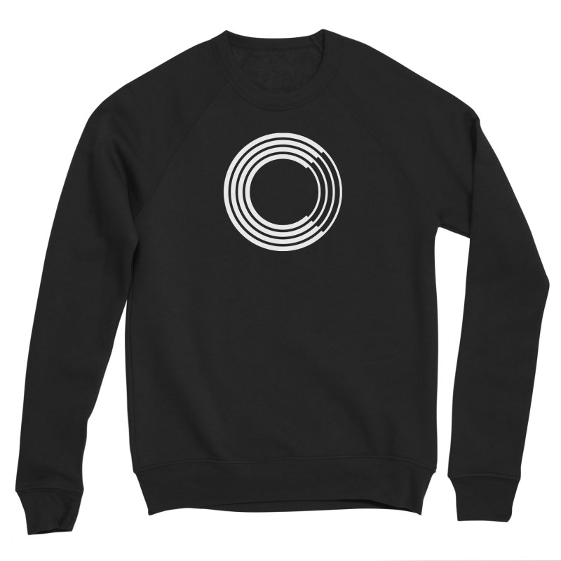 Chorus.fm White Logo (Centered) Women's Sponge Fleece Sweatshirt by Chorus.fm Shop