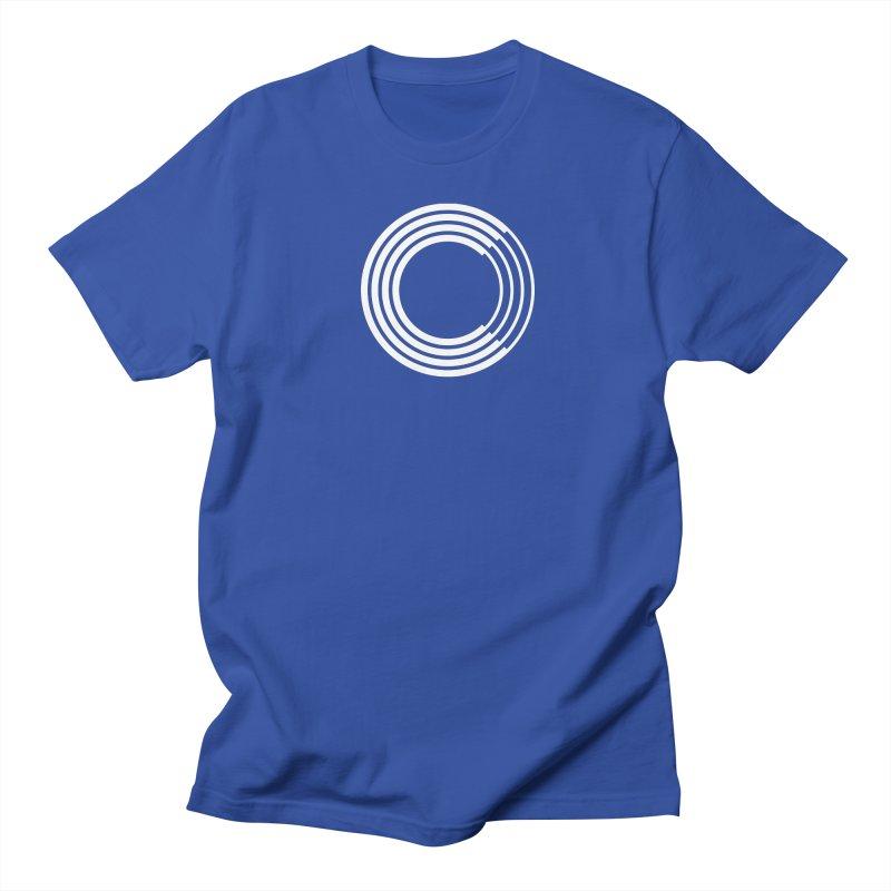 Chorus.fm White Logo (Centered) Women's Regular Unisex T-Shirt by Chorus.fm Shop