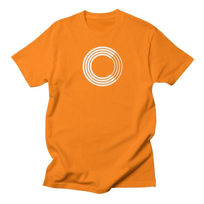 Chorus.fm White Logo (Centered) Men's Regular T-Shirt by Chorus.fm Shop