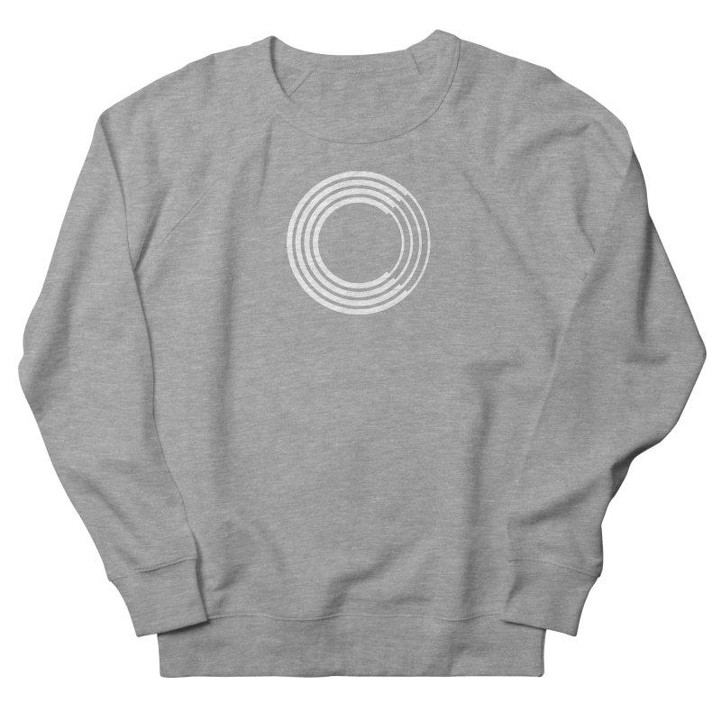 Chorus.fm White Logo (Centered) Women's French Terry Sweatshirt by Chorus.fm Shop