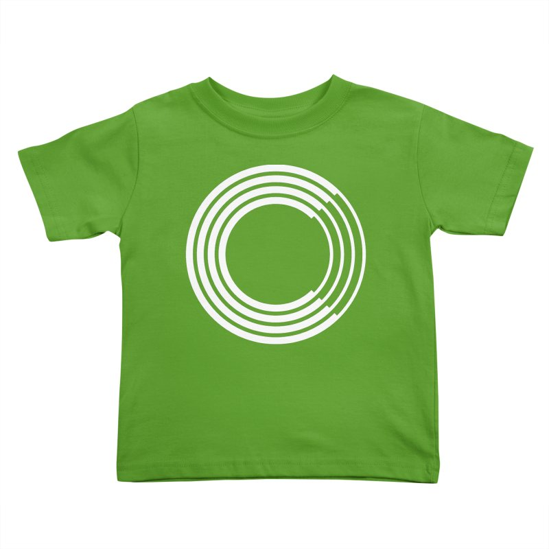 Chorus.fm White Logo (Centered) Kids Toddler T-Shirt by Chorus.fm Shop