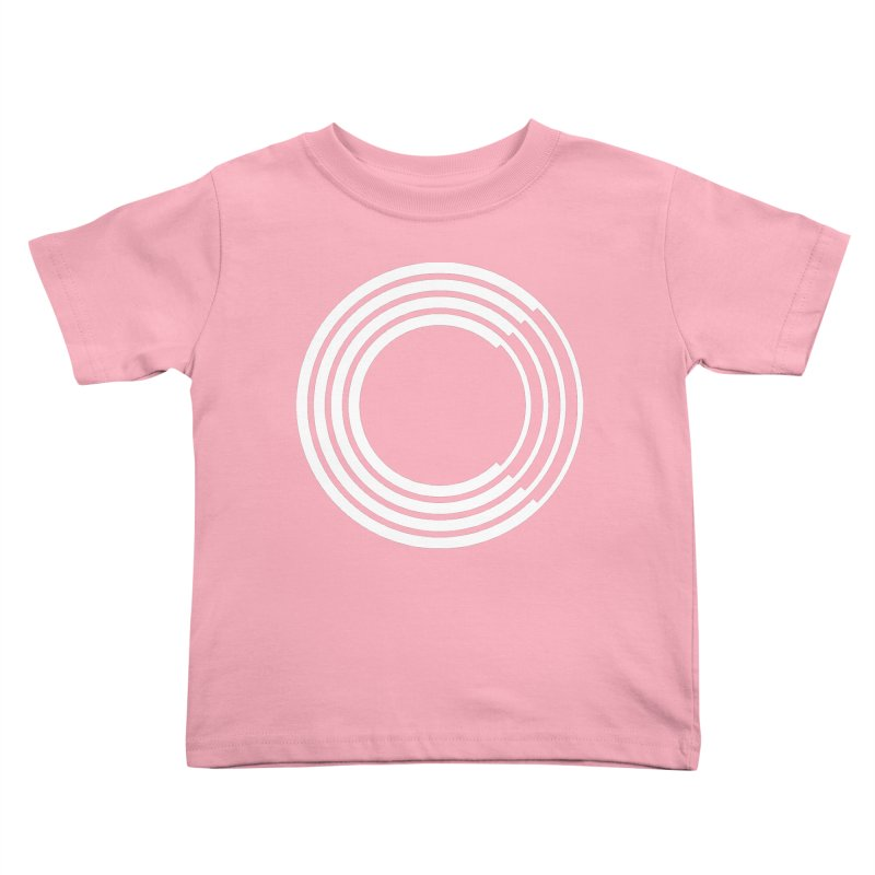 Chorus.fm White Logo (Centered) Kids Toddler T-Shirt by Chorus.fm Shop