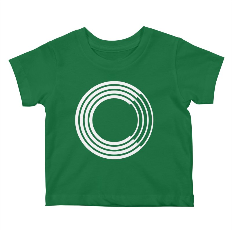 Chorus.fm White Logo (Centered) Kids Baby T-Shirt by Chorus.fm Shop