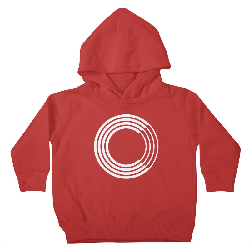 Chorus.fm White Logo (Centered) Kids Toddler Pullover Hoody by Chorus.fm Shop