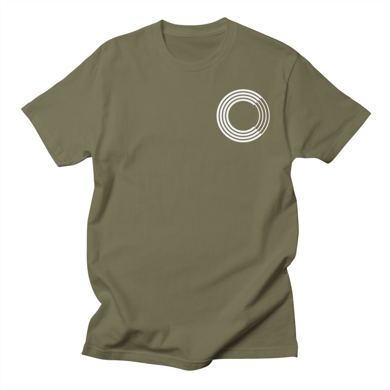 Chorus.fm White Logo (Breast) Women's Regular Unisex T-Shirt by Chorus.fm Shop