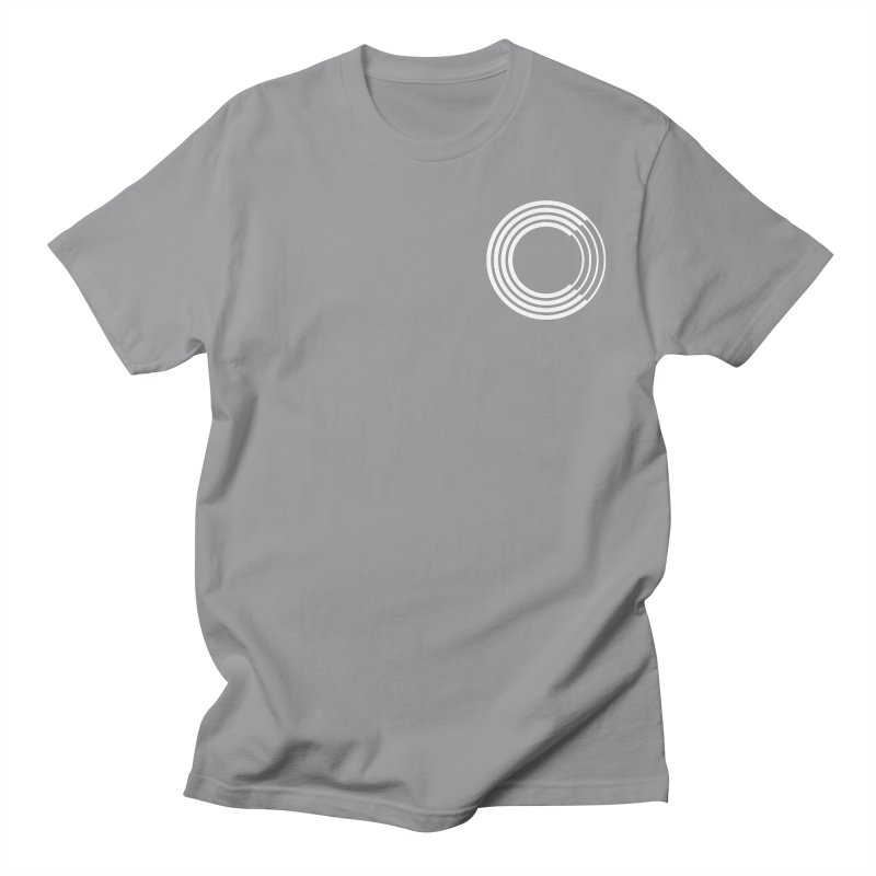 Chorus.fm White Logo (Breast) Women's Regular Unisex T-Shirt by Chorus.fm Shop